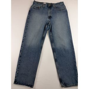 VTG EDDIE BAUER RELAXED FIT JEANS SZ 34 X 32